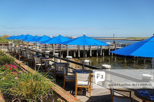 Gosman's Dock Restaurant  Montauk  New York  United States  North America.