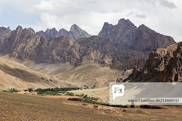 Wakha Valley  Gyal  Ladakh  India.