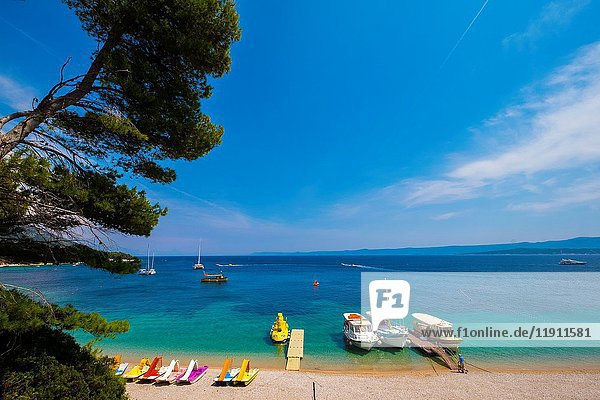 Brac  Croatia  Zlatni rat beach is the most famous in Croatia.