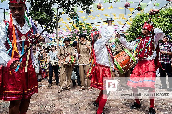 Feast of Saint Anthony - Dance of Reisado - Barbalha - CE - Brazil.