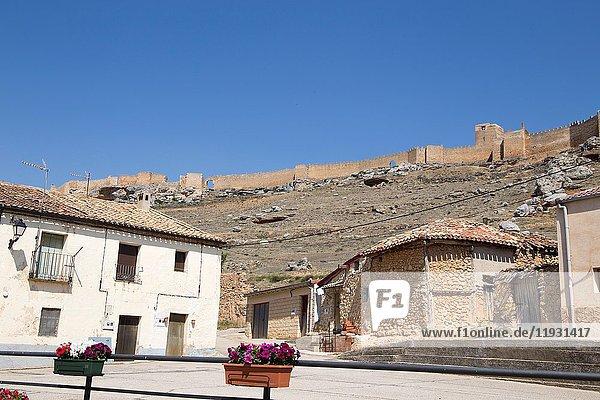 Gormaz castle in Soria province Castile Leon Spain.