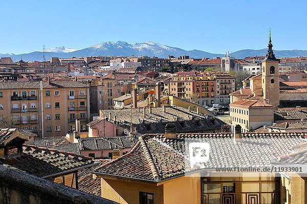 View of Segovia. Castile-León. Spain