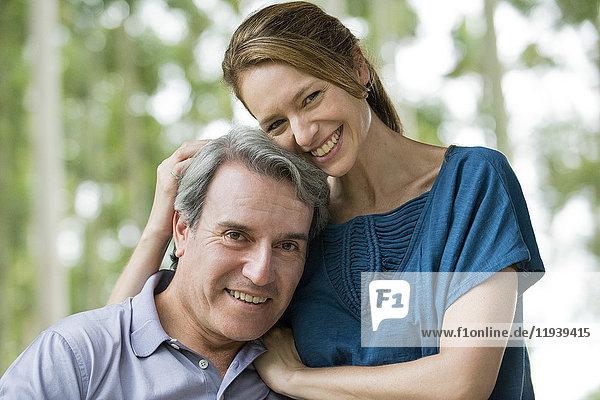 Erwachsenes Paar,  Portrait