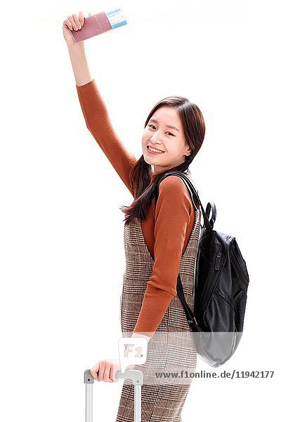 Young women travel
