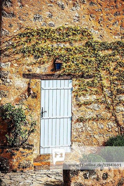 Village of Tourtour  Provence  France Europe.