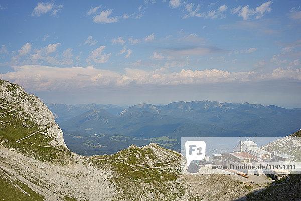 Alpen  Karwendelbahn  Bergstation