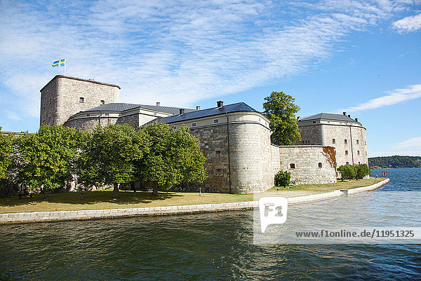Schweden  Vaxholm  Festung