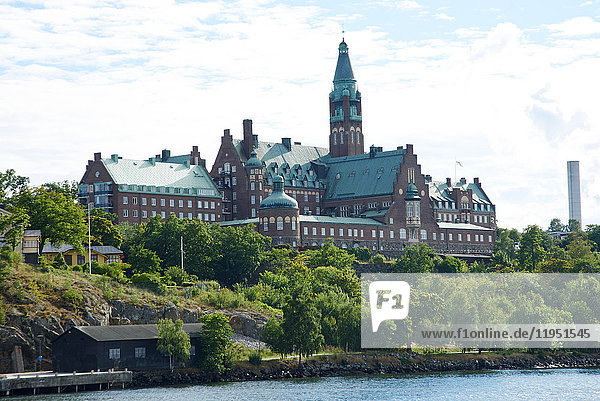 Sweden  Stockholm  Danvikshem retirement home