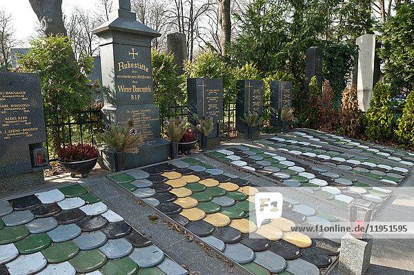 Österreich  Wien  Zentralfriedhof  Gruft des Domkapitels