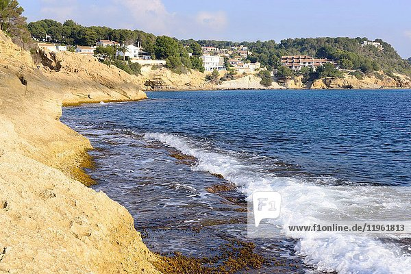 Beach of Moraira  Teulada  Alicante  Valencia  Spain