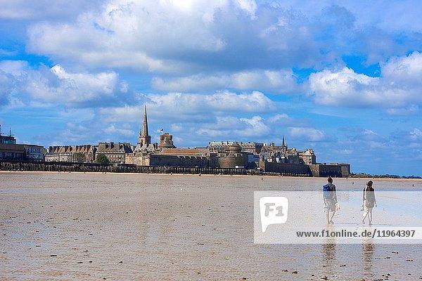 Saint Malo  City views  Ille-et-Vilaine  Bretagne  Brittany  France.
