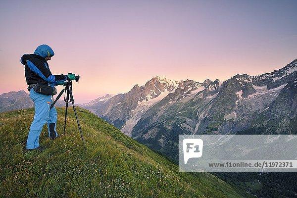 Val Ferret,  Aosta,  Italy.
