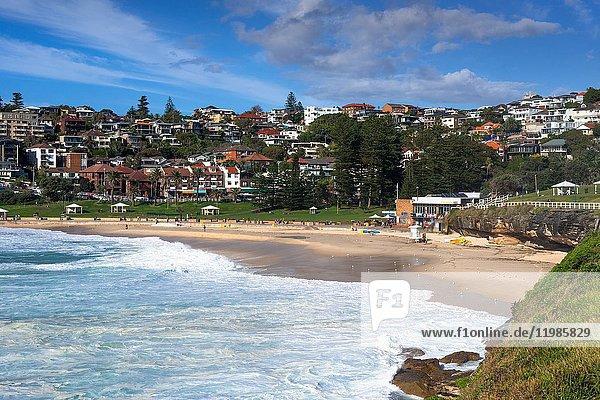Bronte beach  Eastern Suburbs  Sydney  Australia.