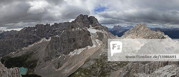 Serapis group  Ampezzo Dolomites  Veneto  Belluno  Italy.
