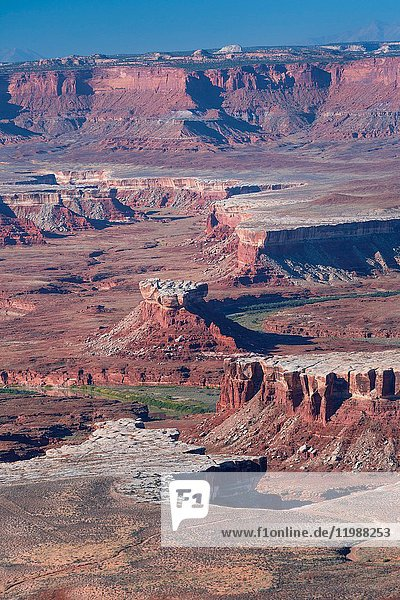 Canyonlands National Park  Utah  Usa  America.