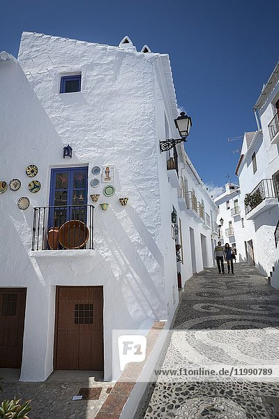 Hideouts of Frigiliana. Frigiliana  Andalusia  Spain  Europe.