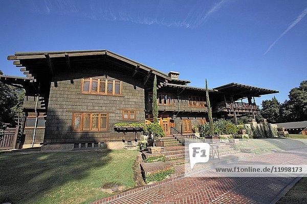 Pasadena,  Gamble House,  Greene & Greene Craftsman House,  California