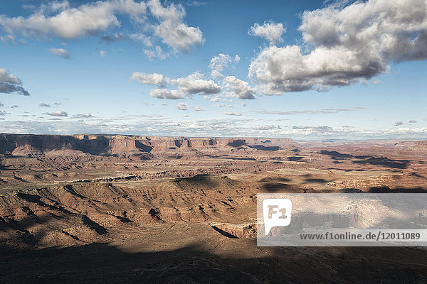 Clouds over canyonlands  Moab  Utah  United States
