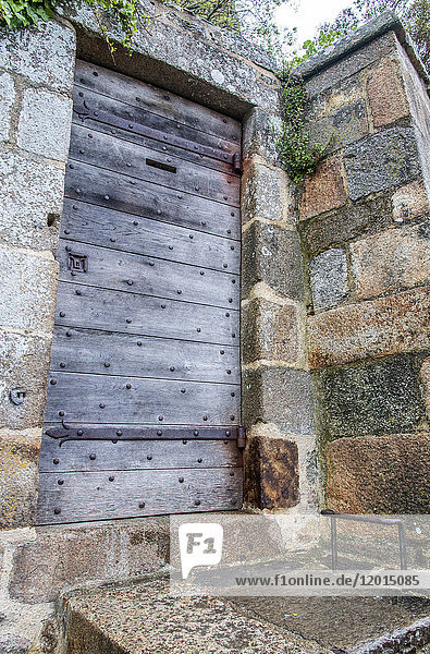 Normandy  Mont Saint Michel  door in the walls (UNESCO World Heritage) (on the way to Santiago de Compostela)