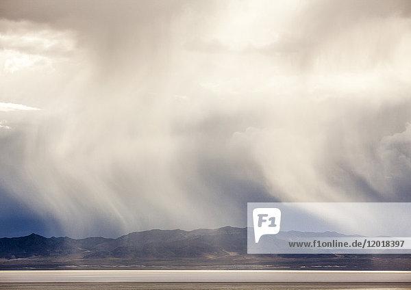 Sandsturm  Kalifornien  USA