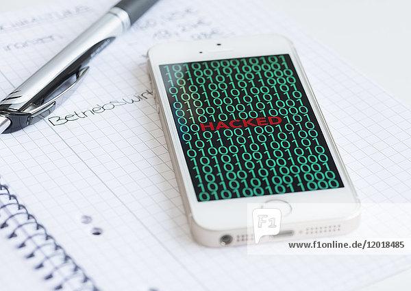 Cyberkriminalität - Smartphone Hacked