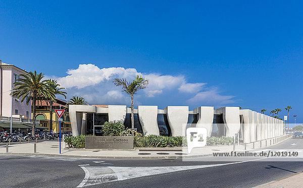 France  Cote d'Azur  Menton  Jean Cocteau Museum