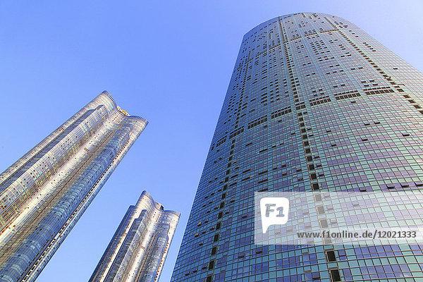 South Korea  Busan. Marina City.