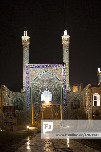 Square of the Imam at Night  Isfahan  Iran