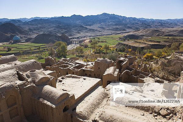 Village of Kharanaq  Yazd province  Iran