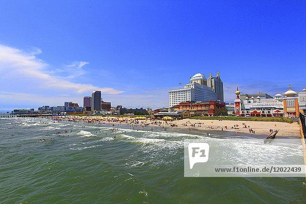 Usa  New Jersey  Atlantic-City. The Trump Taj Mahal Hotel and Casino