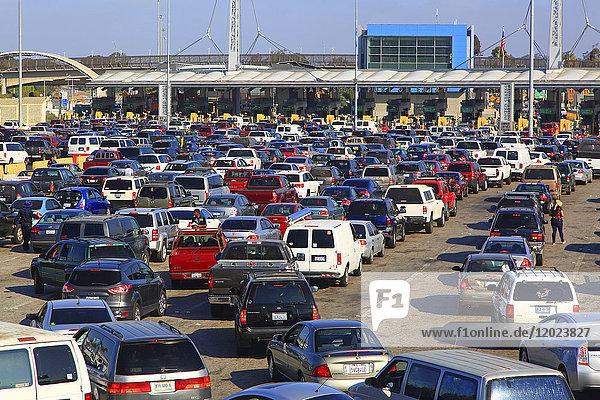 Mexico. Tijuana. Border between Usa and Mexico.