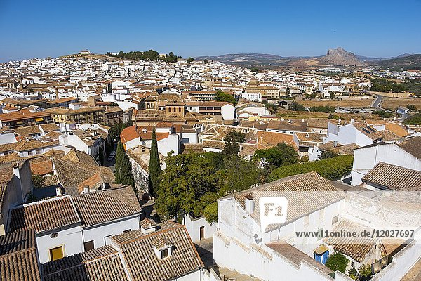 Panoramic view  Antequera. Málaga province  Andalusia. Southern Spain Europe.
