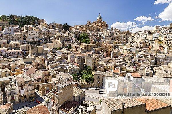 Dom SS. Assunta  Altstadt  Piazza Armerina  Provinz Enna  Sizilien  Italien  Europa