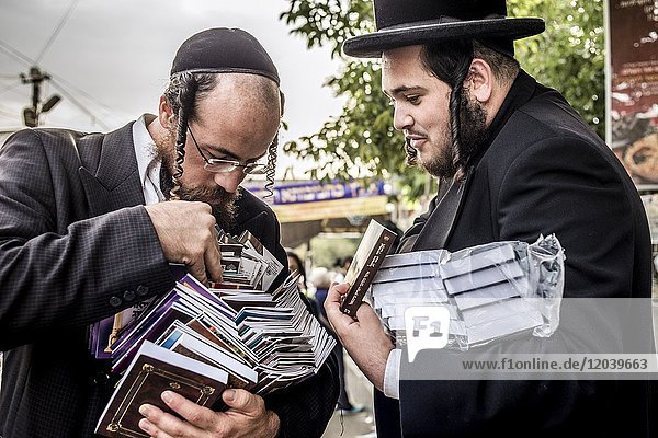Jewish New Year in Uman  Ukraine. Every year  thousands of Orthodox Bratslav Hasidic Jews from different countries gather in Uman to mark Rosh Hashanah  the Jewish New Year  near the tomb of Rabbi Nachman  a great grandson of the founder of Hasidism.