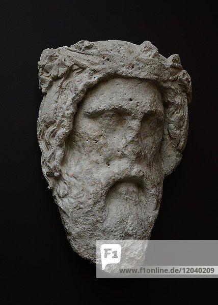 Leiter des griechischen Gottes Dionysos im British Museum  London  Großbritannien  Europa