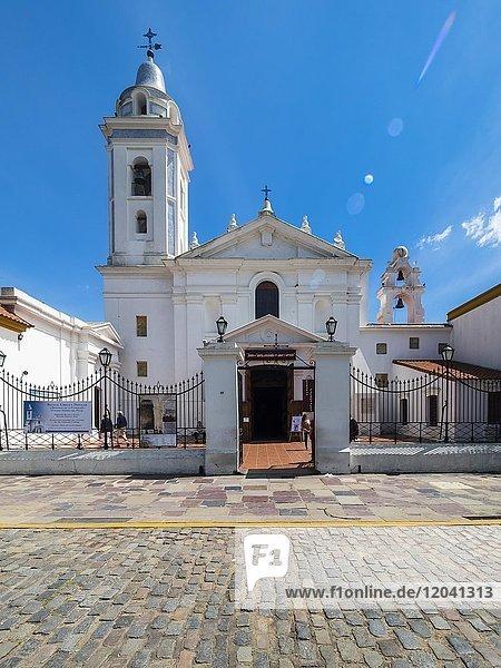 Kirche Basílica Nuestra Señora del Pilar  Stadtteil Recoleta  Bueonos Aires  Argentinien  Südamerika