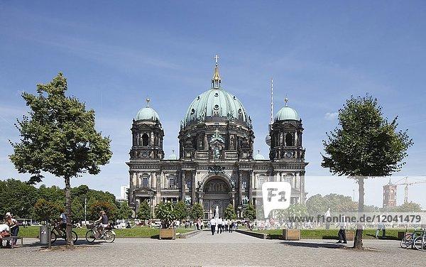Berliner Dom und Lustgarten  Berlin-Mitte  Berlin  Deutschland  Europa