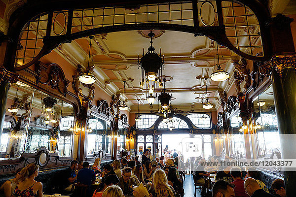 Majestic Cafe  Porto (Oporto)  Portugal  Europe