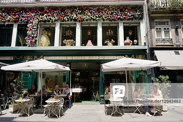 Cafe  Porto (Oporto)  Portugal  Europe