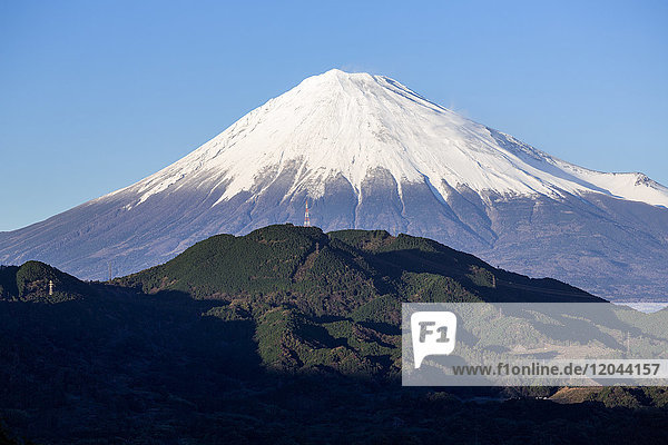 Mount Fuji  UNESCO World Heritage Site  Fuji-Hakone-Izu National Park  Shizuoka  Honshu  Japan  Asia