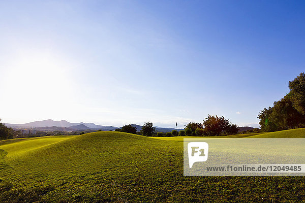Golf Course  Son Servera  Majorca  Balearic Islands  Spain