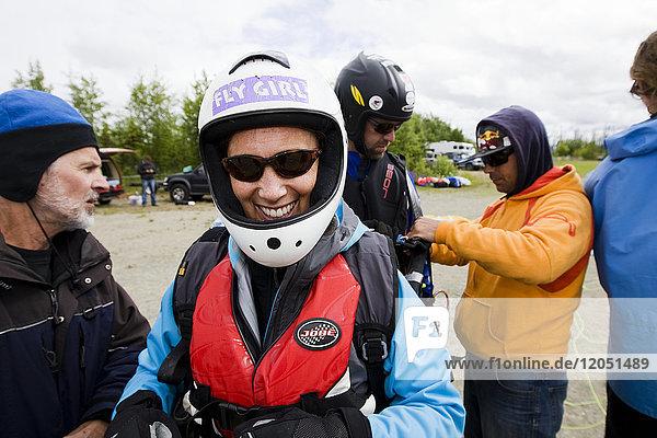 Paragliding Instruction Class  Alaska  USA