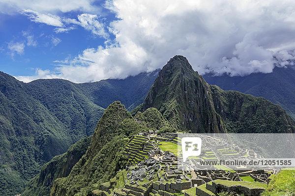Machu Picchu; Cuzco Province  Peru