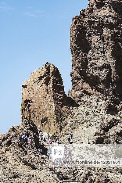 Mount Teide,  Pico Del Teide,  Teide National Park; Tenerife,  Canary Islands,  Spain