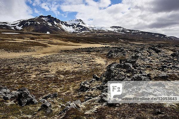 Snaefellsjoekull National Park  Snaefellsnes Peninsula; Iceland