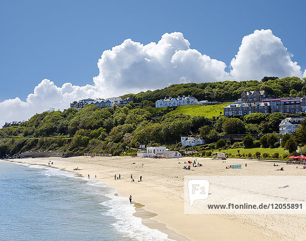 Großbritannien  England  Cornwall  St. Ives  Porthminster Beach