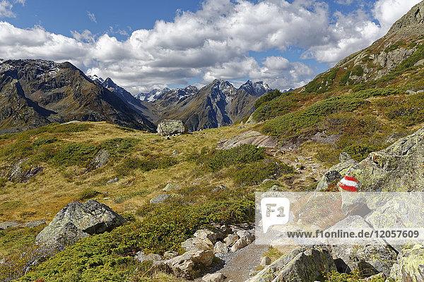 Austria  Tyrol  Oetztal  Gries near Laengenfeld  Winnebach Valley