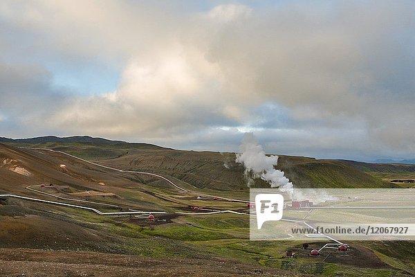 Hverir geothermal area  Nordurland eystra  Norther iceland  iceland.