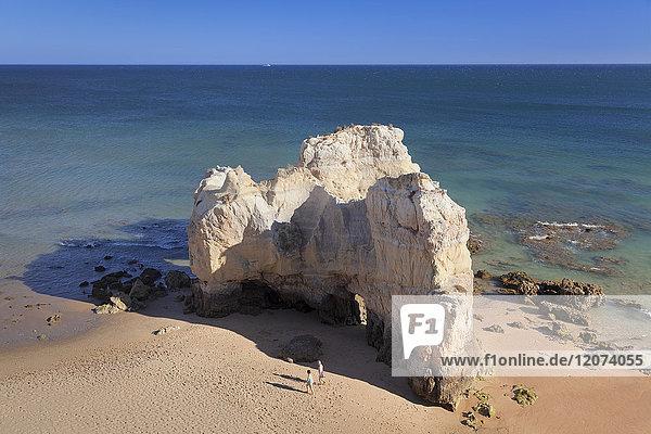 Praia da Rocha beach  Atlantic Ocean  Portimao  Algarve  Portugal  Europe