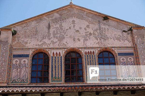 Euphrasian Basilica  UNESCO World Heritage Site  Porec  Istra Peninsula  Croatia  Europe